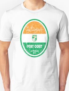 World Cup Football - Ivory Coast Unisex T-Shirt
