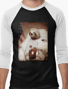 Sloth Astronaut Men's Baseball ¾ T-Shirt