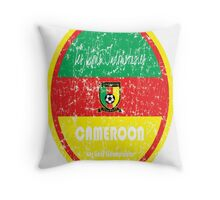 World Cup Football - Cameroon Throw Pillow