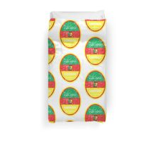 World Cup Football - Cameroon Duvet Cover