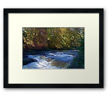 The River Ure Framed Print