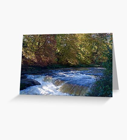 The River Ure Greeting Card