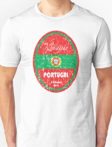 World Cup Football - Portugal Unisex T-Shirt