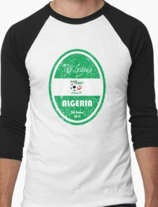 World Cup Football - Algeria Men's Baseball ¾ T-Shirt