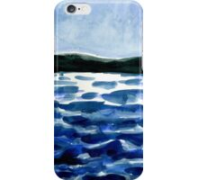 choppy lake iPhone Case/Skin