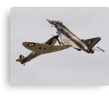 Typhoon & Spitfire Synchro Pair Canvas Print