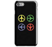 PEACE AIRPLANE iPhone Case/Skin