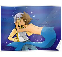 Underwater SoRiku  Poster