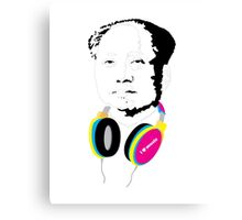 MAO LOVES MUSIC Canvas Print
