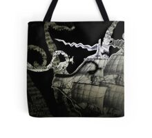 The Kraken book sculpture Tote Bag