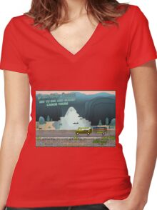 TakeMeToTheRiver08 Women's Fitted V-Neck T-Shirt