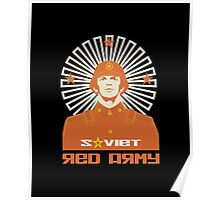 SOVIET RED ARMY SOLDIER Poster