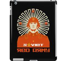 SOVIET RED ARMY SOLDIER iPad Case/Skin
