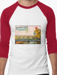 TakeMeToTheRiver11 Men's Baseball ¾ T-Shirt