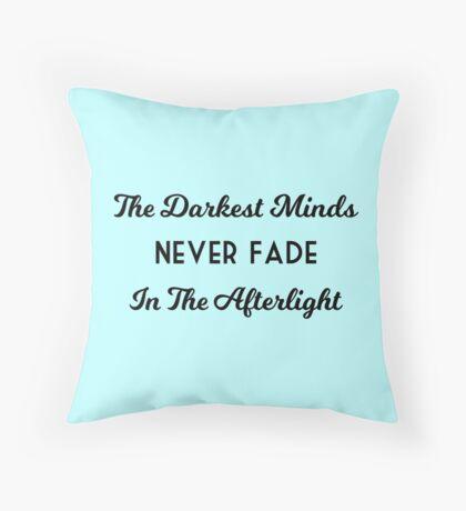 The Darkest Minds Trilogy Throw Pillow