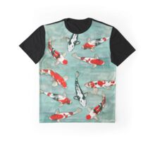 Le ballet des carpes koi Graphic T-Shirt