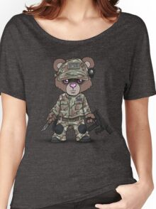 THE PAW (Tan) Women's Relaxed Fit T-Shirt