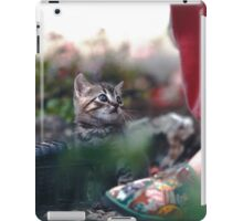 "Chat - Cat  "" Zazou ""  11 (c)(h) ) by Olao-Olavia / Okaio Créations 300mm  f.2.8 canon eos 5  1989 iPad Case/Skin"