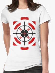 SNIPPER'S TARGET Womens Fitted T-Shirt