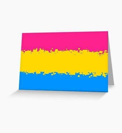 Pansexual Pride Flag Greeting Card