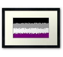 Asexual Flag Framed Print