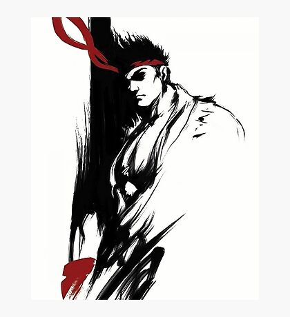 Ryu Stain style Photographic Print