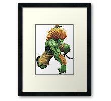 Blanka Street Fighter Framed Print