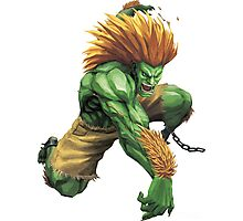 Blanka Street Fighter Photographic Print
