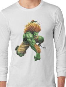 Blanka Street Fighter Long Sleeve T-Shirt