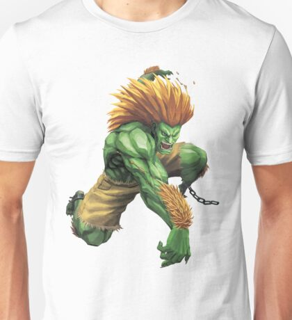 Blanka Street Fighter Unisex T-Shirt