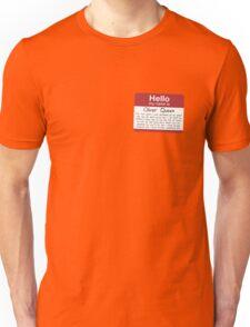 Name's Oliver Unisex T-Shirt
