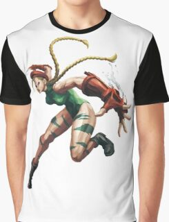 Cammy White Street Fighter Graphic T-Shirt