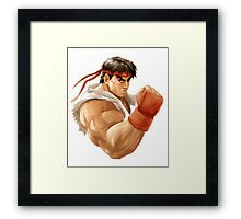 Ryu painting Framed Print