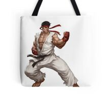 Ryu fight - Street Fighter Tote Bag