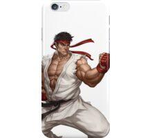 Ryu fight - Street Fighter iPhone Case/Skin