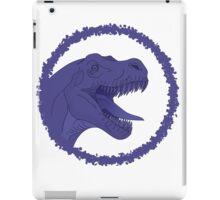 Purple T-Rex iPad Case/Skin
