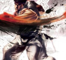 Ryu super hook - street fighter Sticker