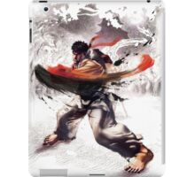 Ryu super hook - street fighter iPad Case/Skin