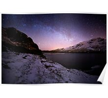 Milky Way in the Scottish Highlands  Poster