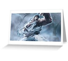 Ryu Storm style - Street Fighter Greeting Card
