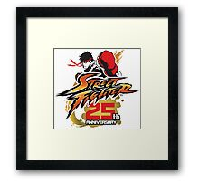 Street Fighter 25th anniversary Framed Print