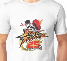Street Fighter 25th anniversary Unisex T-Shirt
