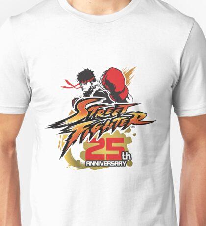 Street Fighter 25th anniversary Unisex T-Shirt