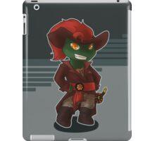 Pirate Raph iPad Case/Skin