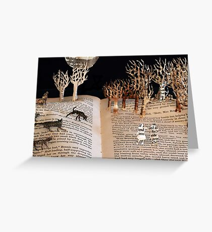 Wolves of Willoughby Chase Greeting Card