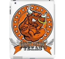 Texas Longhorns, Burnt Nation Sport iPad Case/Skin