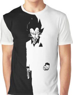 VEGETA SCARFACE Graphic T-Shirt