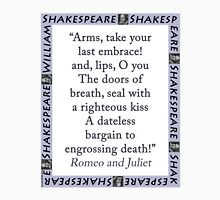 Arms Take Your Last Embrace - Shakespeare Unisex T-Shirt