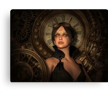 Steampunk Time Keeper Canvas Print