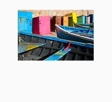 Vintage fishing boats in Essaouira, Morocco Unisex T-Shirt